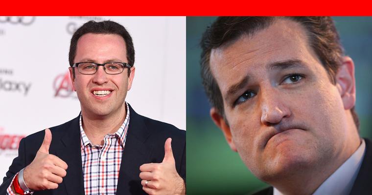 Jared Fogle Ted Cruz