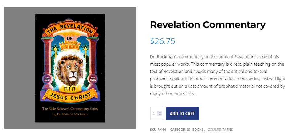 book-of-revelation-end-times-king-james-bible-commentary-ruckman-bible-believers-bookstore-saint-augustine-florida-nteb