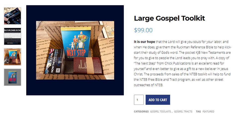 nteb-bible-believers-bookstore-saint-augustine-florida-king-james-gospel-toolkit-tracts-next-step-street-preacher