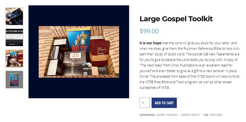 nteb-gospel-toolkit-king-james-tracts-bible-believers-christian-books-saint-augustine-florida