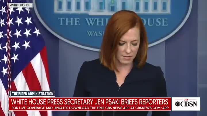 Jen Psaki Refuses To Give COVID Numbers