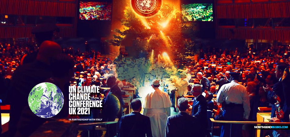 pope-francis-vatican-one-world-religion-chrislam-united-nations-cop26-climate-change-conference-2021-glasgow-antichrist-un-gaia-religion